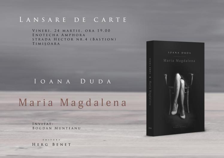 Afis-lansare-Maria-Magdalena---Timisoara